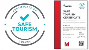 safe tourism certificates