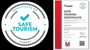 safe tourism certificates